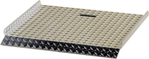 Dutro Treadbrite Aluminum Curb Ramp