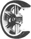 Nutting Vulcanized Rubber Cart Wheel