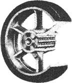 Duro-Tred Vulcanized PY Cart Wheel
